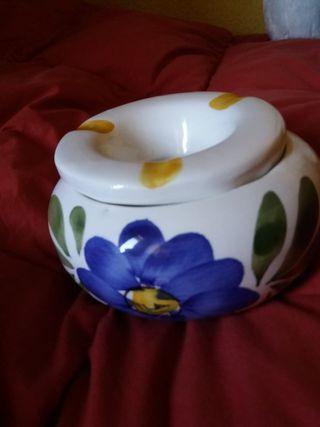 cenicero cerámica