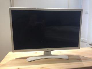 TV LG 24' blanca