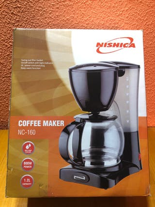 Cafetera eléctrica Nishica