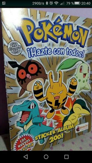 Album de cromos Pokemon