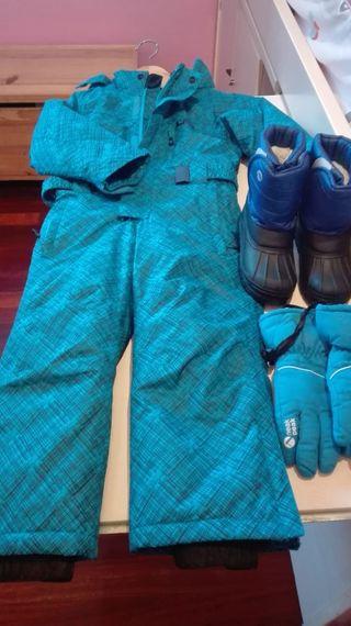 ropa esquiar niño, sin usar
