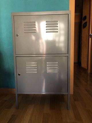 Armario Segunda En Ikea € 50 De Ps Por Taquilla Gris Mano Metal ChdrsQt