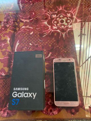 Samsung Galaxy S7 (roto para arreglar o piezas)