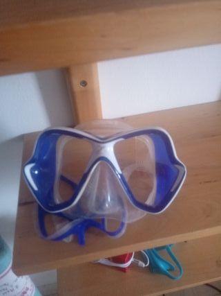 máscara de buceo barata