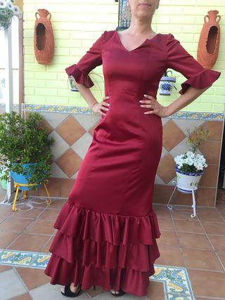 Vestido fiesta flamenco