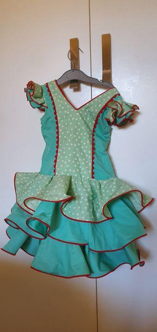 Vestido Sevillana niña