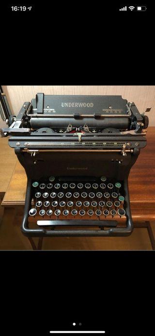 Underwood maquina de escribir
