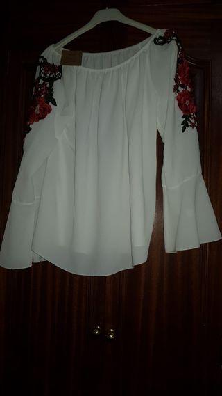 camisa blanca talla unica