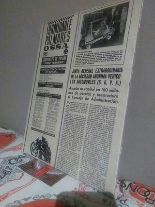 publicidad Motocicleta Ossa