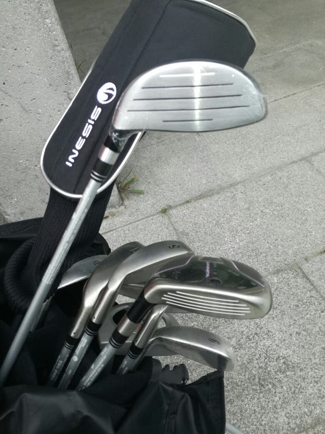 Equipo de golf nuevo