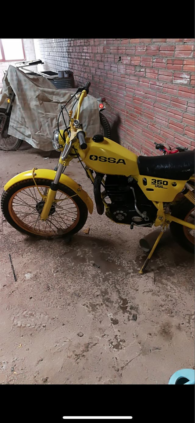 Vendo moto OSSA 350