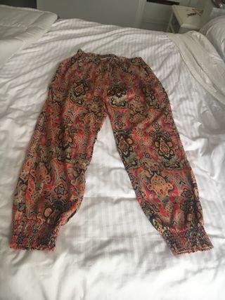 Pantalón estampado M/L con elástico