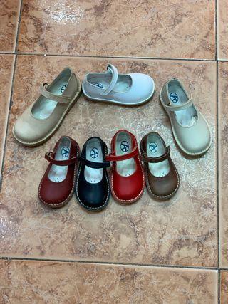 Zapato niña piel nuevos