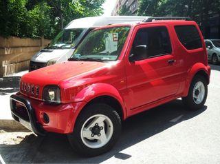 Suzuki Jimny color rojo 2004