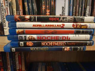 vendo películas en blu ray