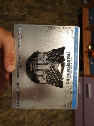 vendo pack en blu ray transformers