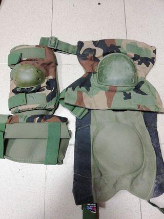 Coderas y Rodilleras militares