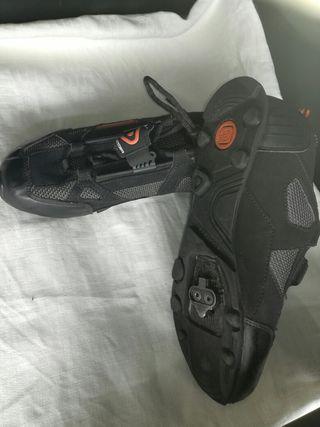 zapatillas de spinning numero 39