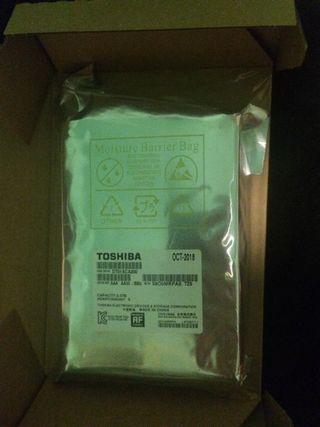 Disco duro interno Toshiba 2tb