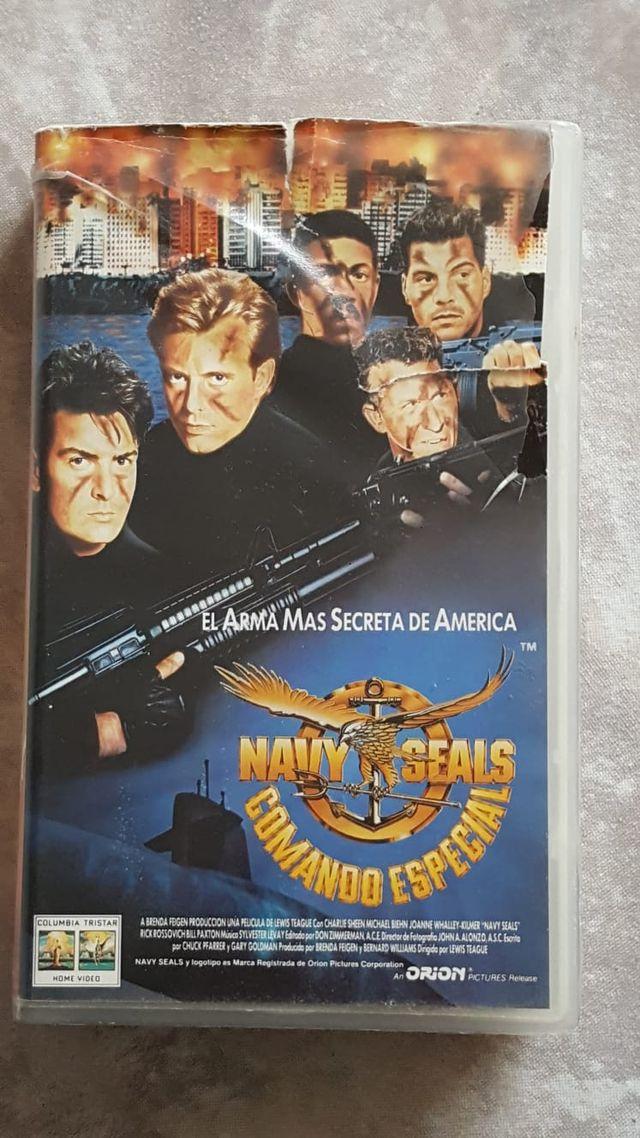 PELICULA VHS NAVY SEALS COMANDO ESPECIAL