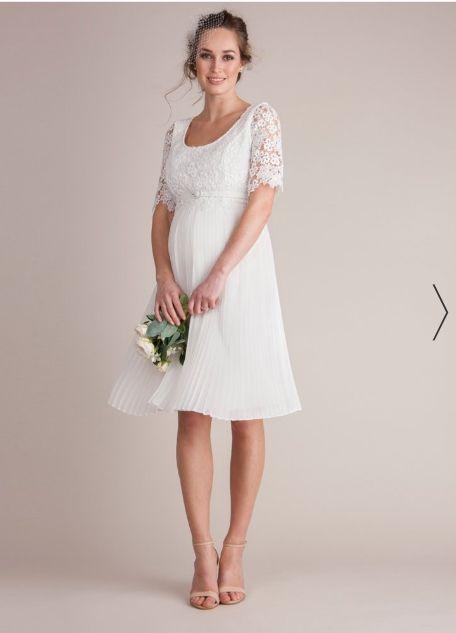 baratas para descuento venta minorista color atractivo Vestido novia premamá Seraphine. T42-44. Boda de segunda ...
