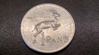 Lote de 5 monedas de Sudáfrica