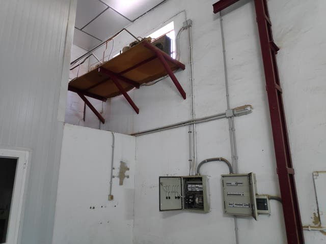 cámaras frigoríficas, evaporadoas, cuadros luz....