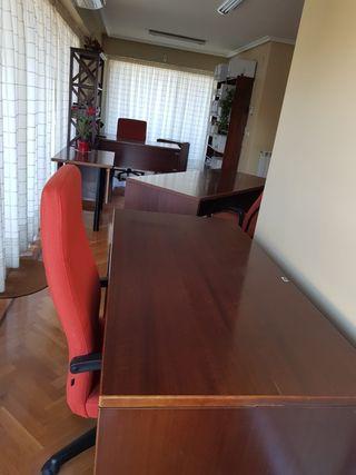 Mesas madera maciza oficina OPORTUNIDAD