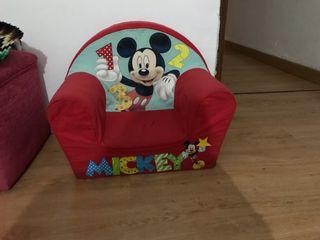 Sillón Mickey Mouse