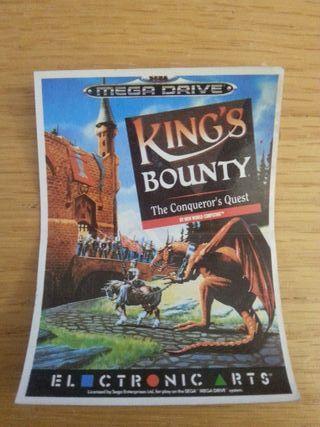 cromo bollycao sega kings bounty
