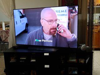 TV OLED LG 55 pulgadas con armario