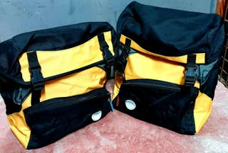 Alforjas impermeables ciclismo 40L