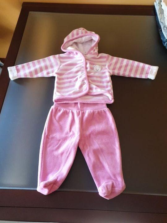Chandal bebe de 1-3 meses.