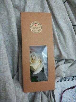 Rosas de jabón venta al por mayor tambien