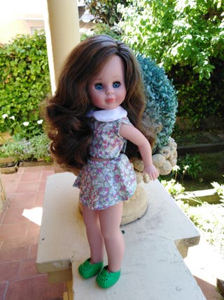 muñeca kika nueva olor vainilla mismo molde Nancy