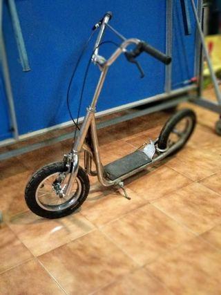 Patinete scooter rueda grande