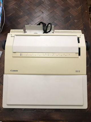 CANON ES 5 máquina escribir eléctrica FUNCIONANDO