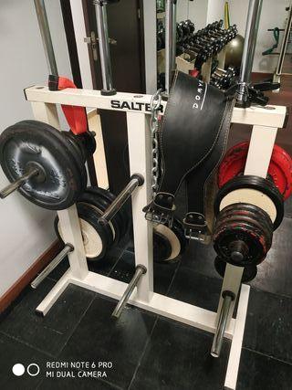 soporte para pesas