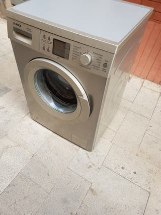 lavadora Bosh 7kg inoxidables