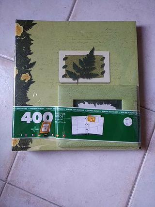 ALBUM 400 FOTOS + marco fotos