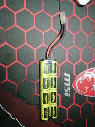 Batería para replica de airsoft