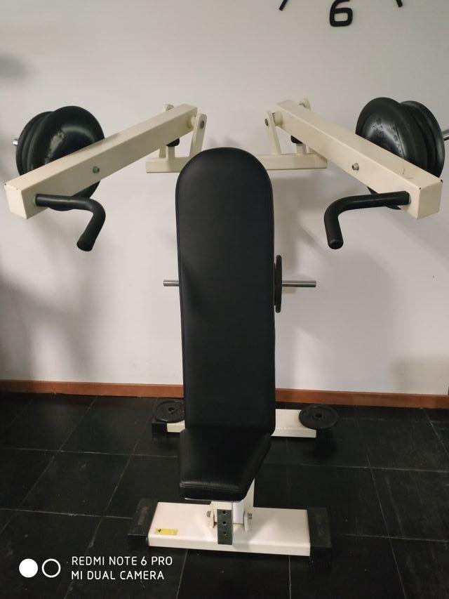 maquina hombros