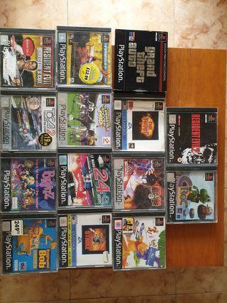 juegos PlayStation originales