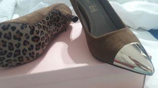 zapato de vestir nuevos