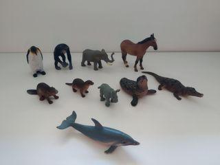 lote de animales de juguete en buen estado