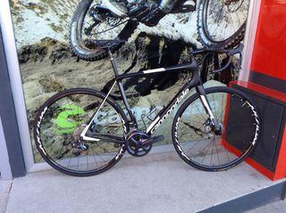 Bicicleta talla 56 cannondale synapse high modulus