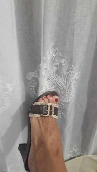 zapato tipo zueco