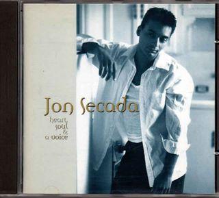 CD Jon Secada - Heart, Soul & A Voice