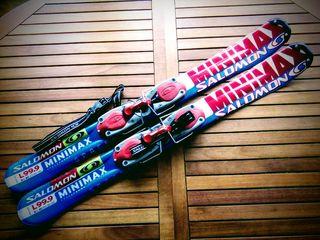 SNOWBLADES SALOMON 99,9 cm. ESQUIS CORTOS.