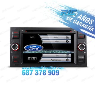 "RADIO 7"" FORD NEGRO USB GPS TACTIL HD"